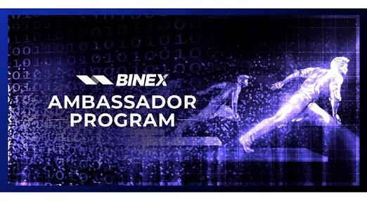BINEX.TRADE anuncia programa de embajadores: únete a la fuerza y lidera el camino