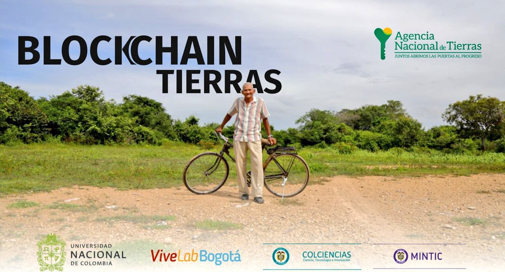 Gobierno de Colombia presenta piloto de registro de tierras en Ethereum