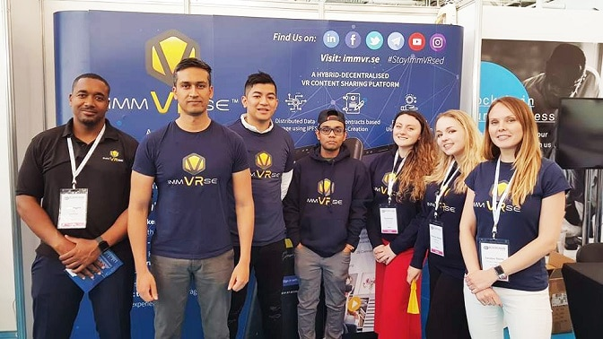 ImmVRse exhibió en la London Blockchain Summit