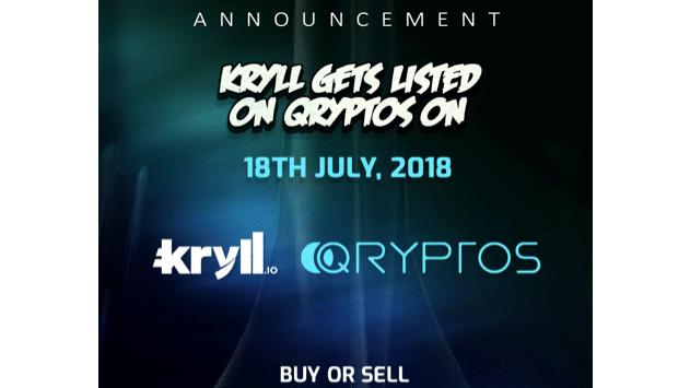 Kryll.io, plataforma de estrategias automatizadas de negociación de cripto, se cotiza en QRYPTOS