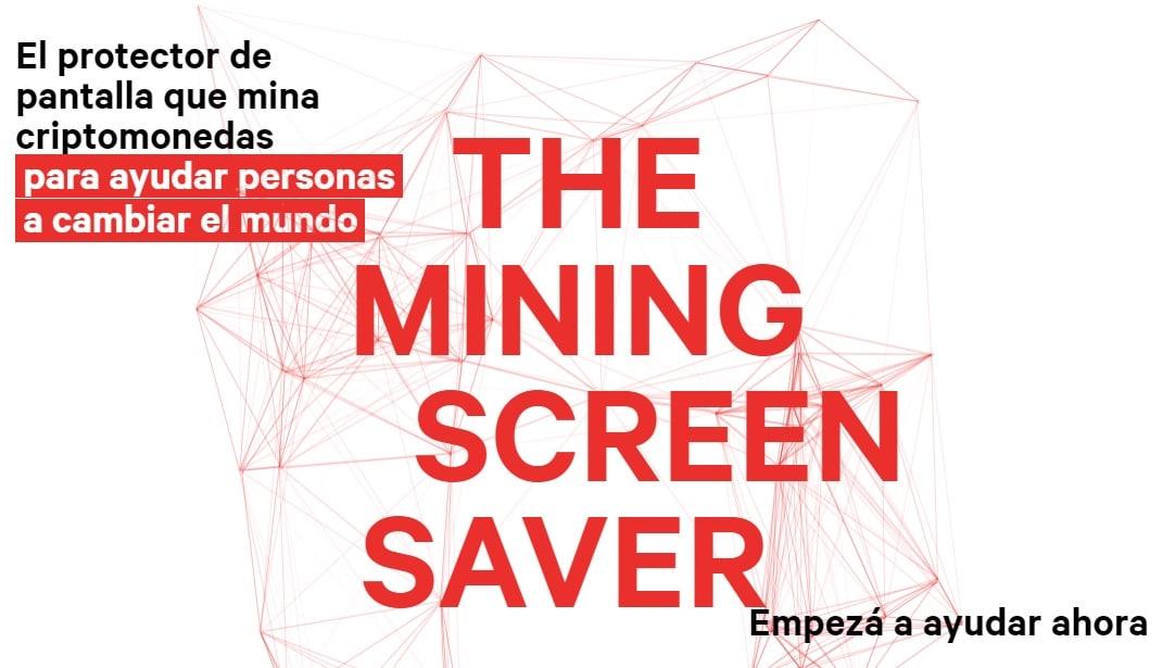 Apoya obras de caridad con Change.org minando Monero con tu protector de pantalla