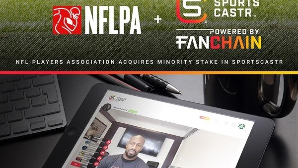 NFLPA adquiere participación minoritaria en SportsCastr – proveerá contenido de vídeo interactivo en vivo