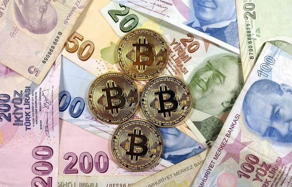 Desplome de lira turca dispara intercambios por criptomonedas en el país