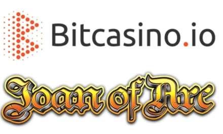 Bitcasino.io asegura exclusividad del tragamonedas Juana de Arco