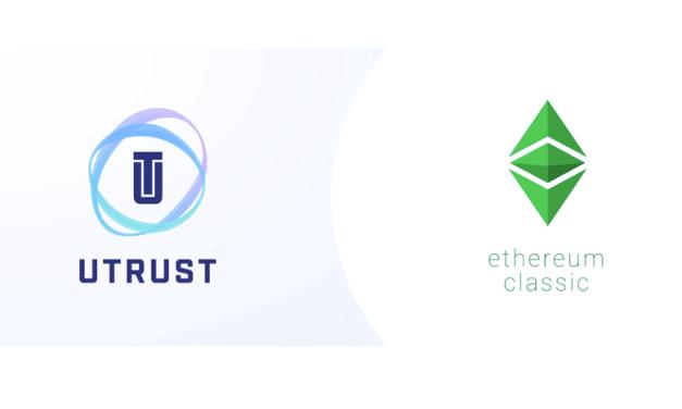 UTRUST se asocia con el equipo de desarrollo de Ethereum Classic para integrar ETC