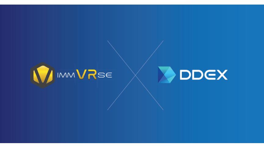 Token IMVR de ImmVRse cotiza en DDEX – Una casa de bolsa descentralizada avanzada