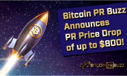 Bitcoin PR Buzz mejora servicios de notas de prensa y reduce precios hasta $800