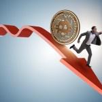 Bitcoin cae por debajo de los 5800 dólares arrastrando al criptomercado