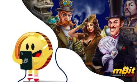mBitcasino actualiza su sitio web con grandes promociones y nuevas características