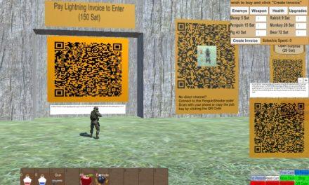 Crean videojuego que usa Lightning Network como eje de la acción