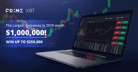 Únase gratis al sorteo de US$ 1.000.000 de Prime XBT
