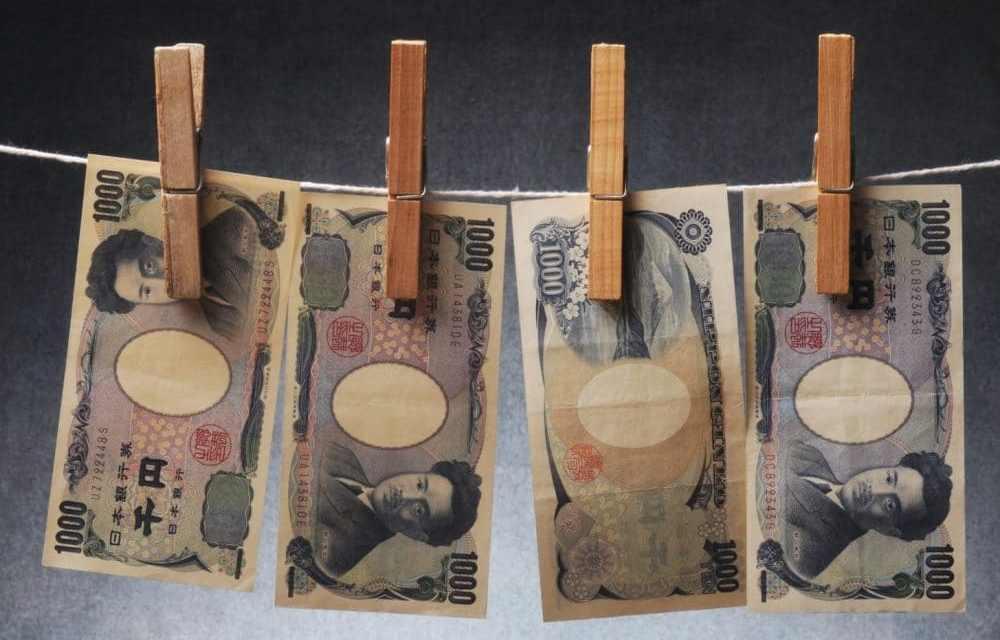 Solo 1,6% del dinero lavado en Japón durante 2018 involucró criptoactivos