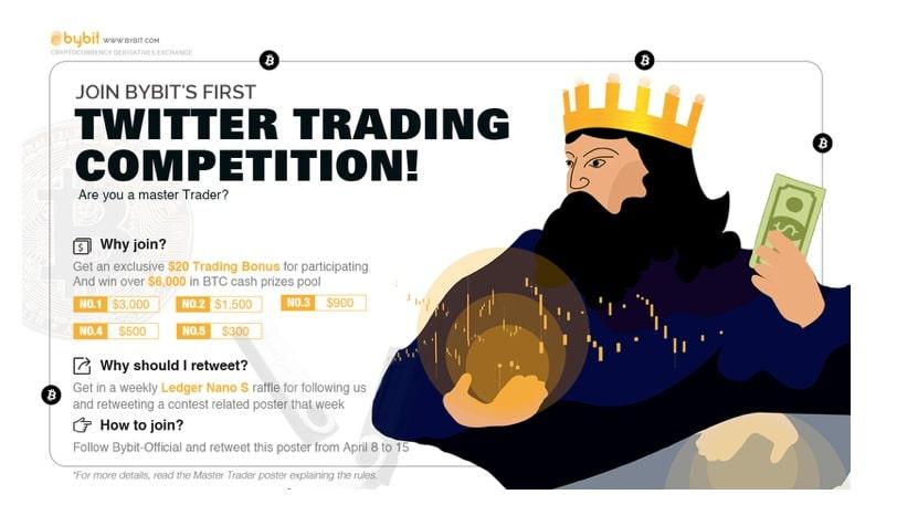 Criptobolsa de derivados Bybit lanza competencia de trading