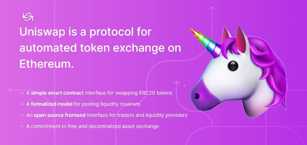 Uniswap: donde puedes intercambiar cualquier token ERC20
