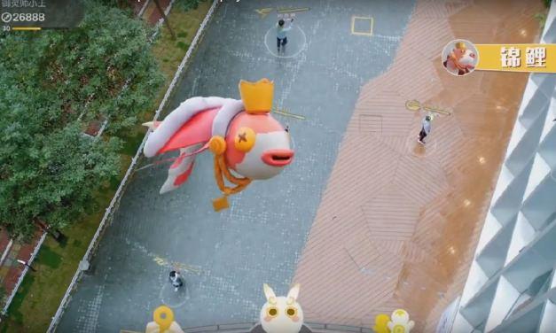 Tencent te deja atrapar criptomonstruos en China como en Pokemon Go