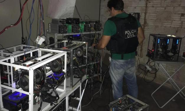 Policía brasileña investiga granja de minería ligada al narcotráfico
