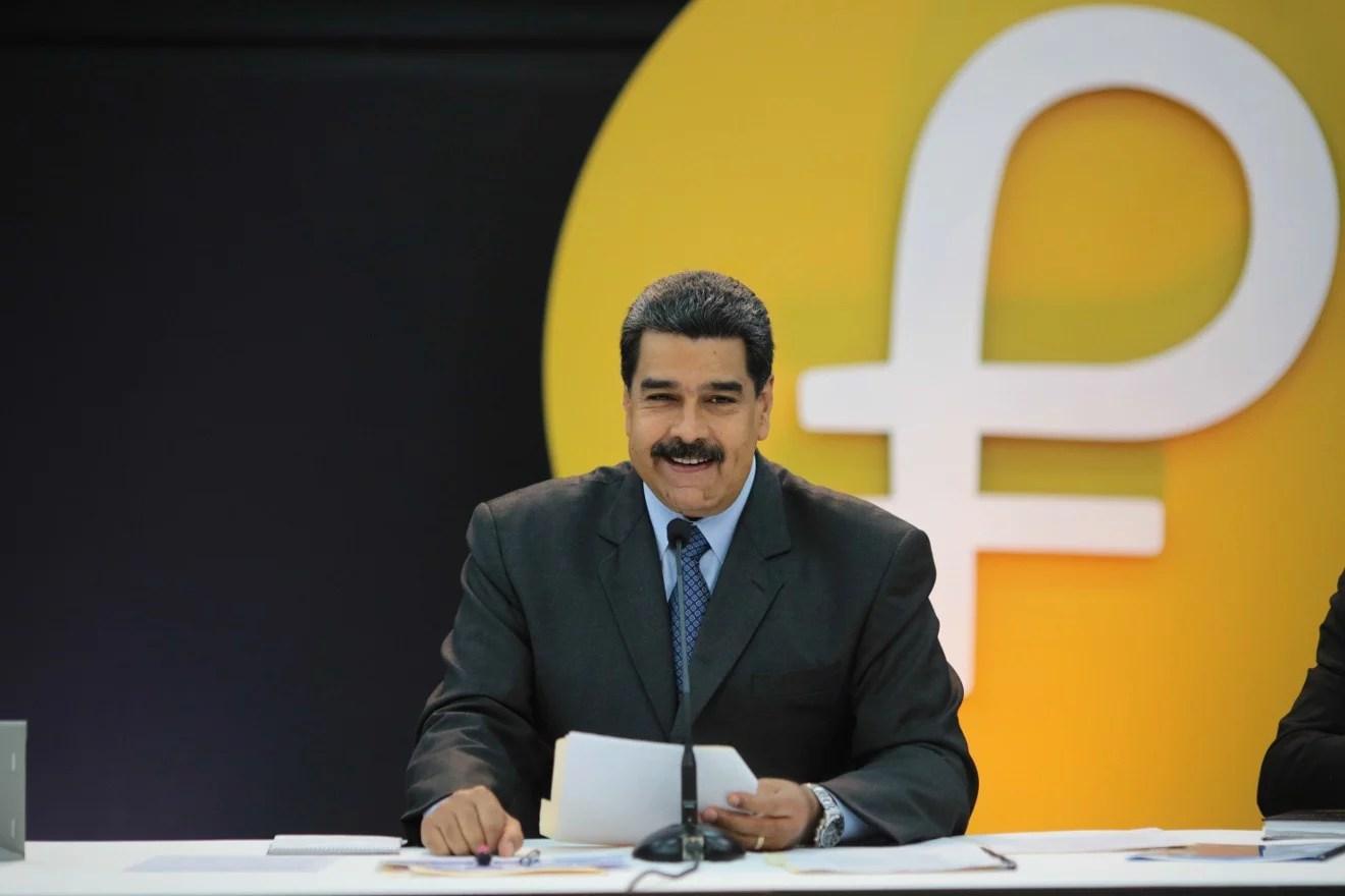 Según el gobierno venezolano el Petro cuenta con 5.000 millones de dólares en intenciones de compra
