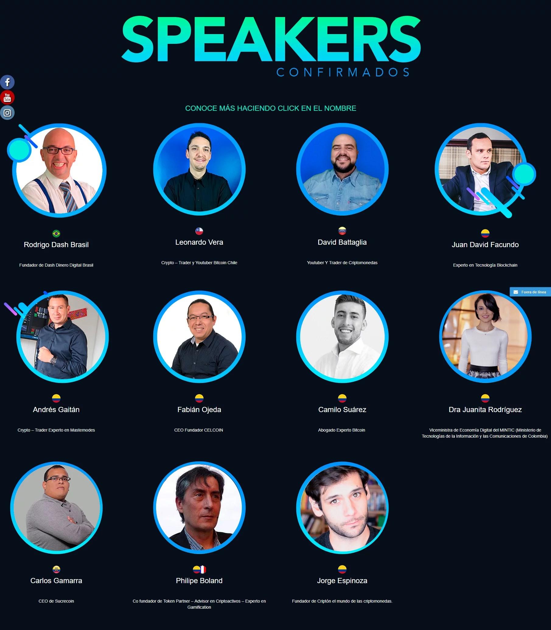 speakers en cripto latin fest