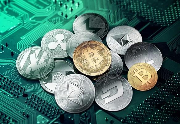Criptomonedas como bitcoi, ethereum y ripple se basan en blockchain