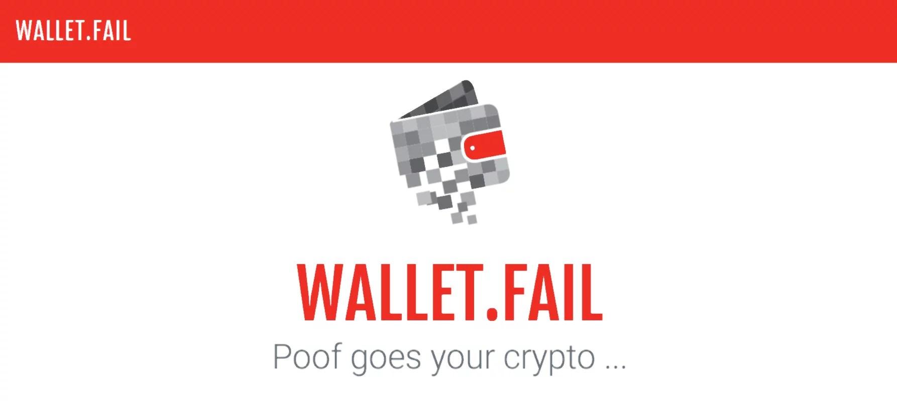 Wallet Fail