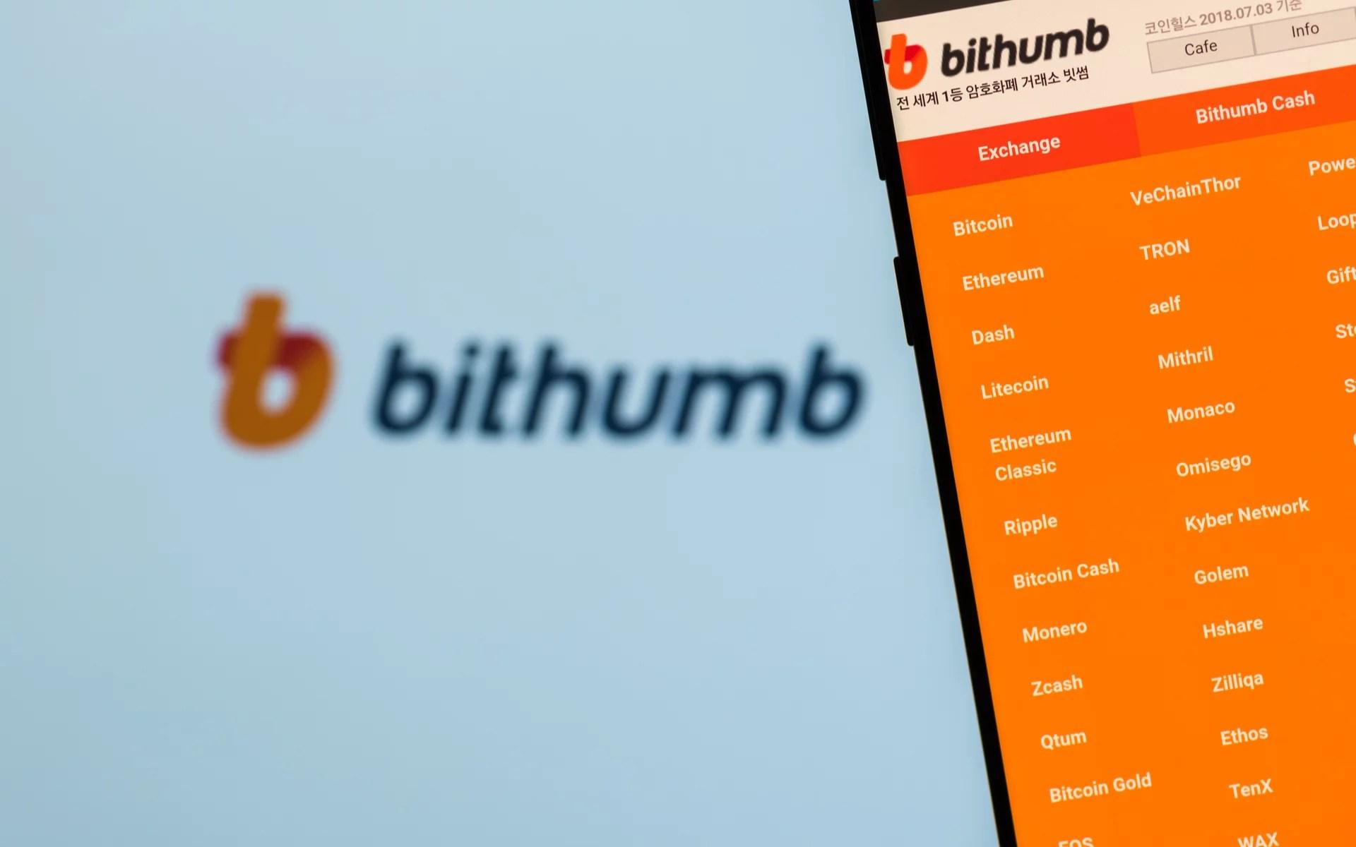 Intercambio criptográfico Bithumb lanzó una mesa de operaciones de ventas libres para activos digitales