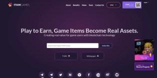 Plataforma de juegos móviles blockchain de Itam Games