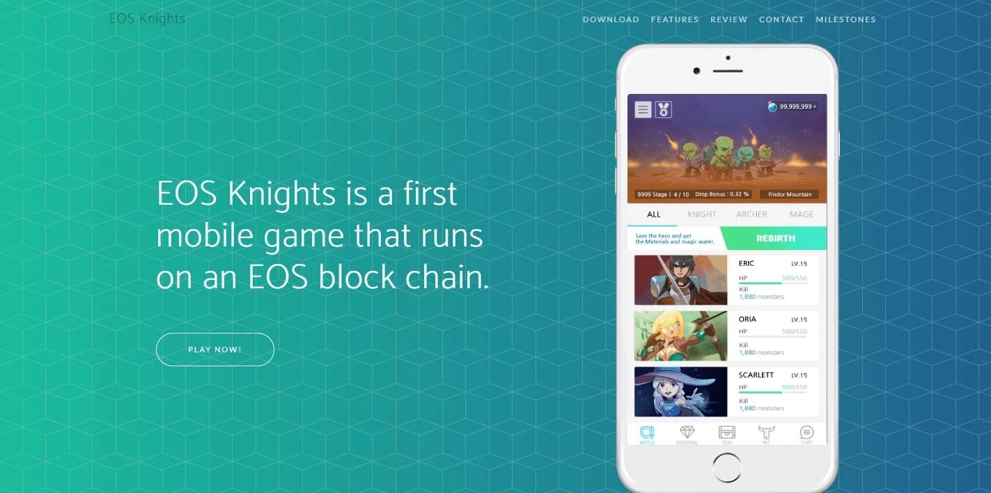 Página oficial de EOS Knights