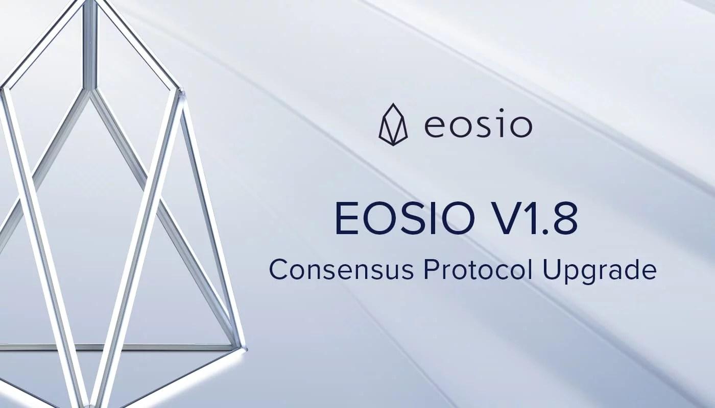 EOS 1.8 ahora está disponible mientras que su precio sigue estable