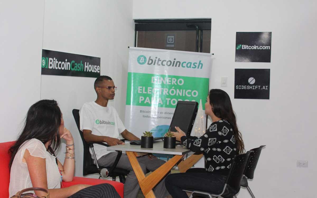 Inauguran en Venezuela la primera Bitcoin Cash house
