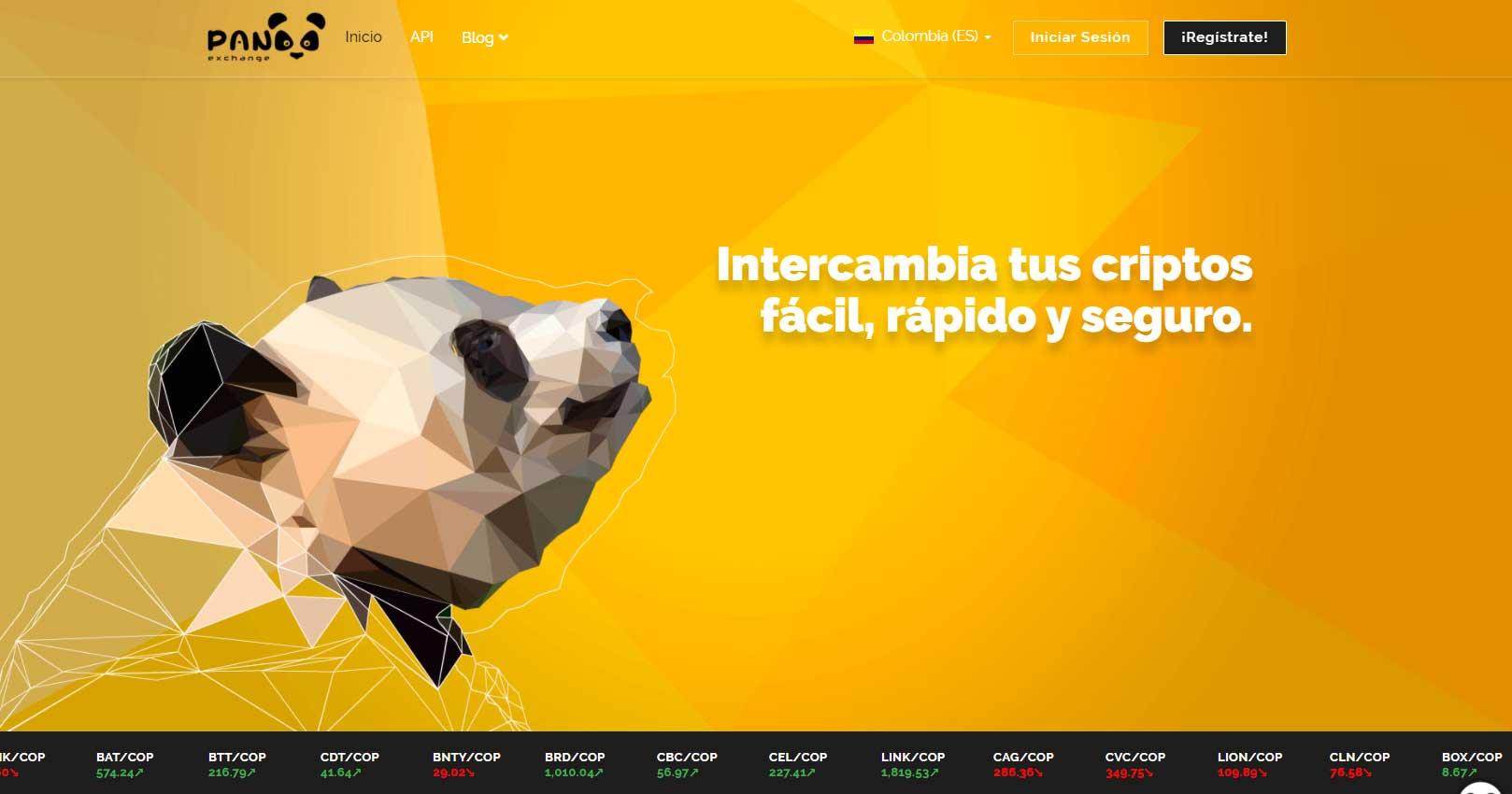 Panda Exchange Colombia