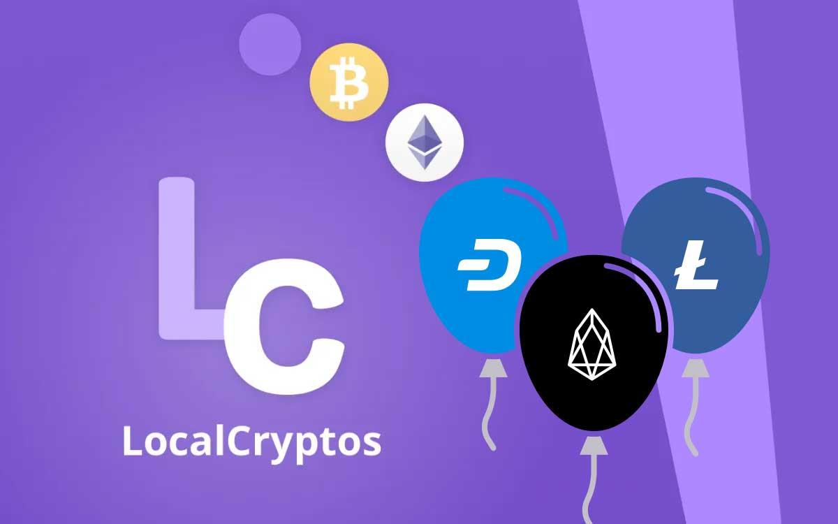 LocalCrypto planea incluir una tercera criptomoneda a su lista de intercambio P2P