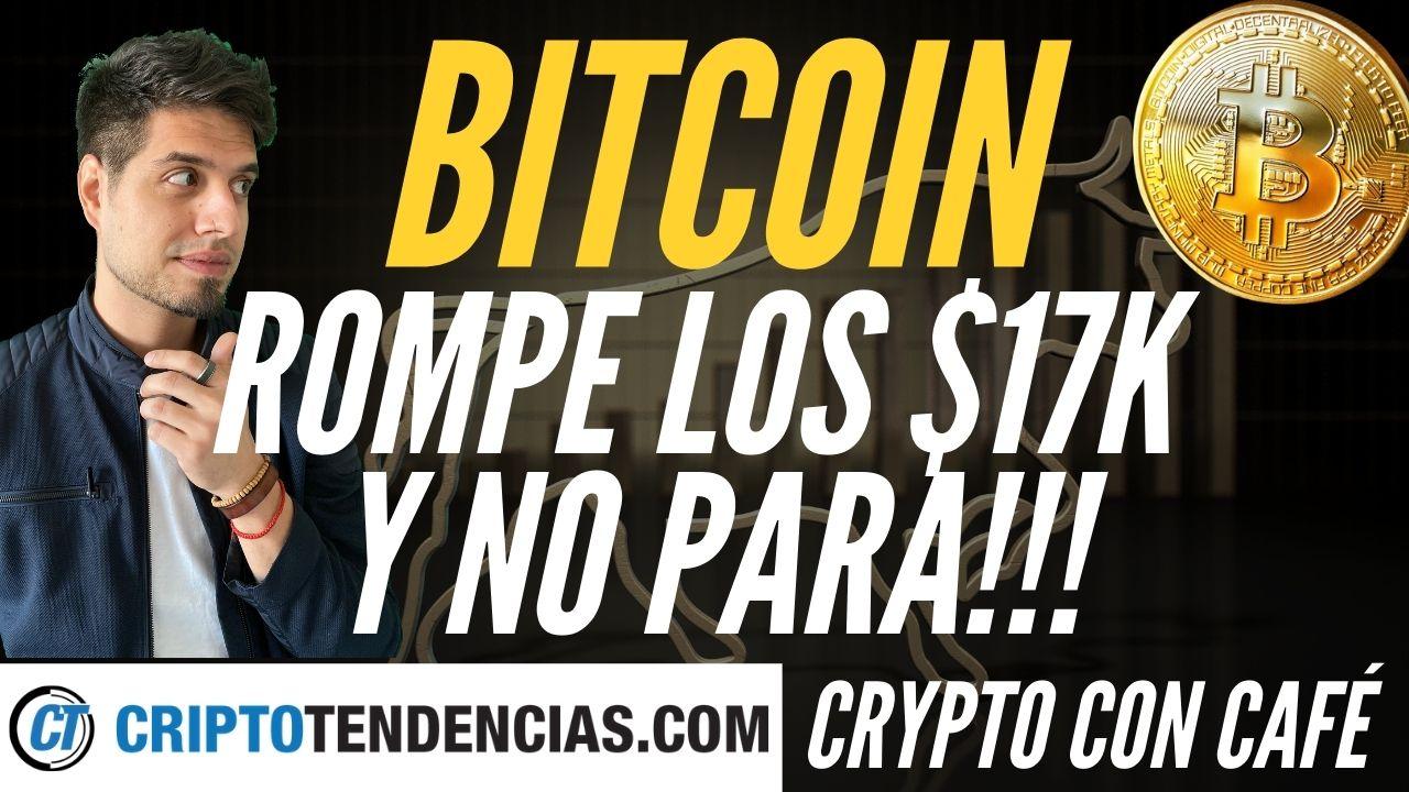 bitcoin $17k ethereum 480 crypto con café criptotendencias