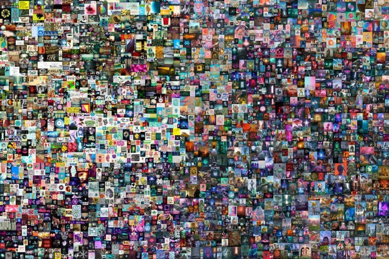 Obra de arte digital 'The First 5000 Days' de Beeple se vende por 69.3 millones de dólares en subasta para convertirse en el NFT más caro de la historia