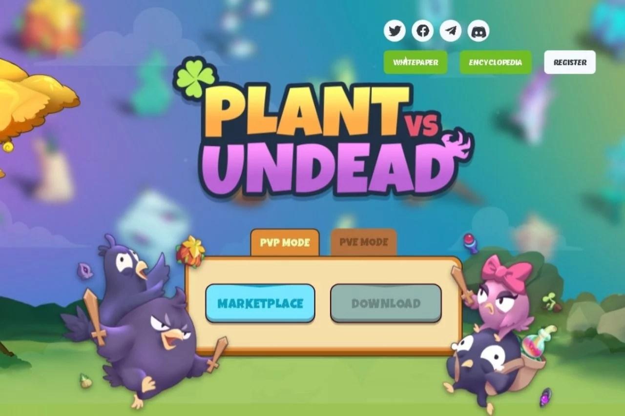 Token PVU de Plant vs Undead en precio mínimo histórico tras la clonación de las plantas NFT y el lanzamiento del nuevo token para el modo PvP