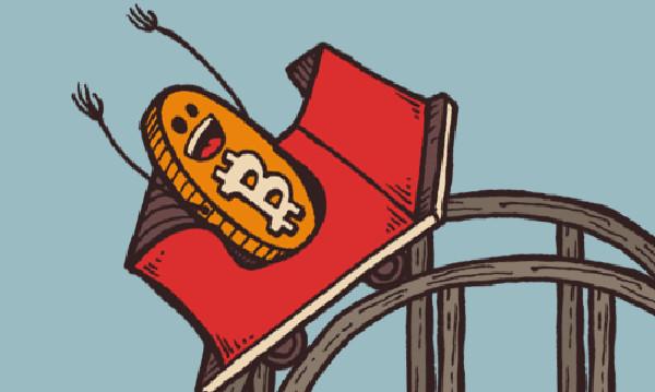 bitcoin sale scende