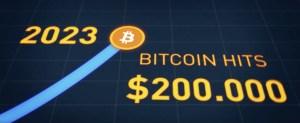 2023 e Bitcoin a 200 Mila Dollari