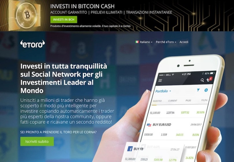 Alternativa CryptoSystem eToro