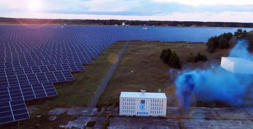 Container Mining Criptovalute Energia Solare Envion
