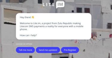 Litecoin ora è possibile inviarli tramite Telegram e SMS