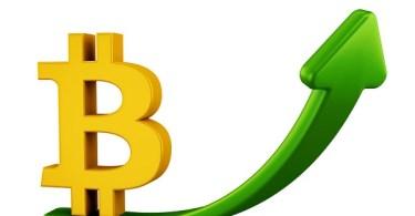 Bitcoin cresce