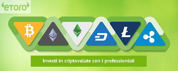 eToro Investire in Criptovalute