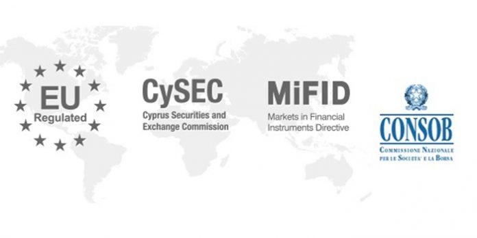 CySEC e Consob Regolamentazione Piattaforme Criptovalute