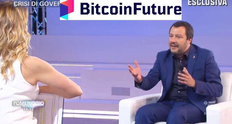 Matteo Salvini Barbara D'Urso Bitcoin Future