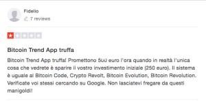 Bitcoin Trend App Truffa Trustpilot
