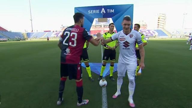 Serie A Cagliari-Torino 4-2. I sardi si allontanano dalla zona pericolosa male i granata
