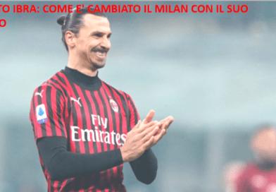 Effetto Ibra: come è cambiato il Milan con il suo arrivo