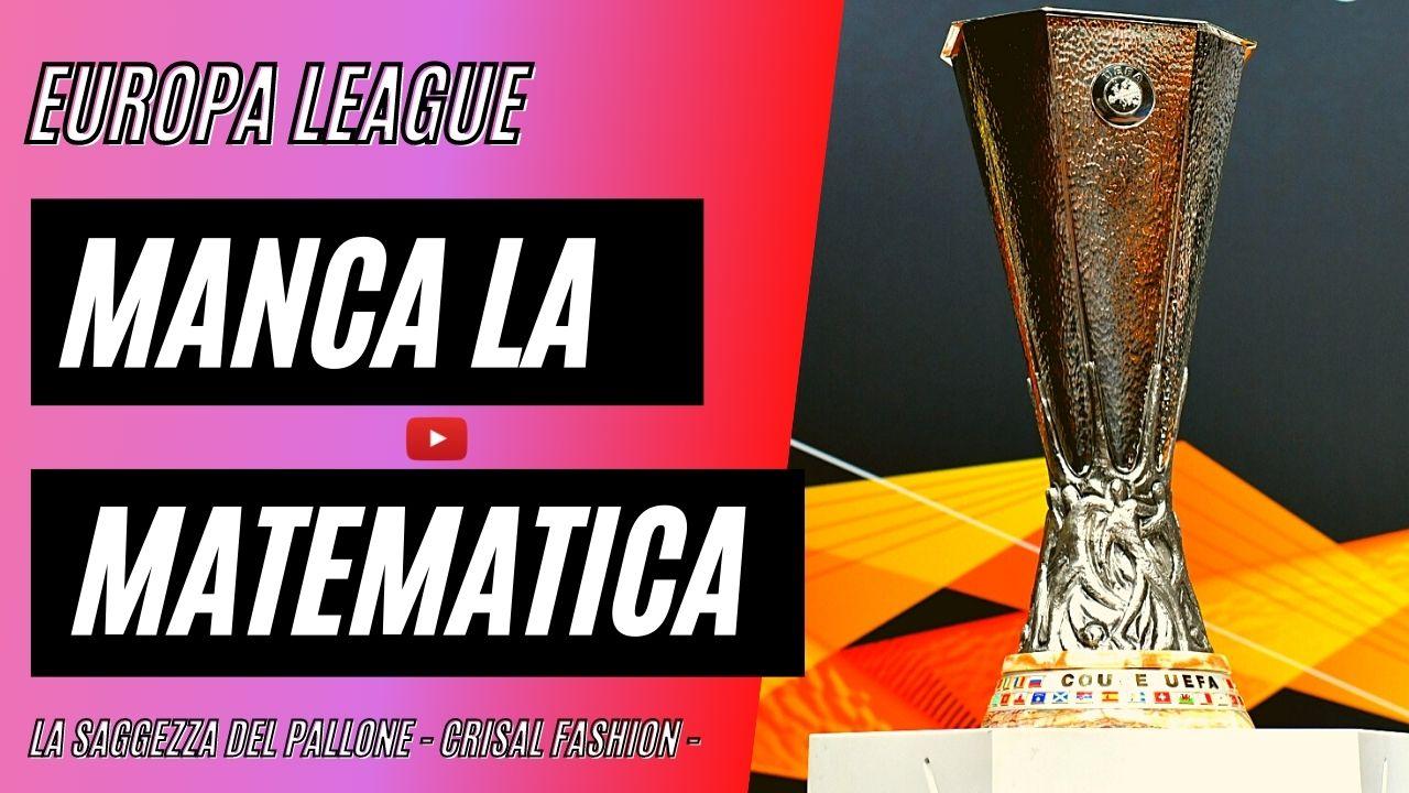 Europa League, Manca solo la matematica per la Juventus