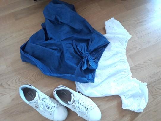 Panta-culotte e Crop top: un'outfit pratico e comodo
