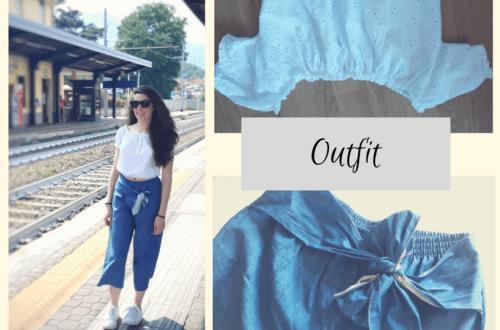 Panta-culotte e Crop top: Outfit pratico e comodo