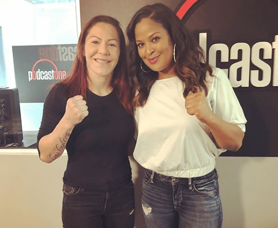 Cris Cyborg And Boxing Legend Laila Ali Team Up